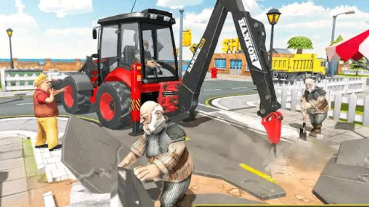 Heavy Excavator Sim 2018