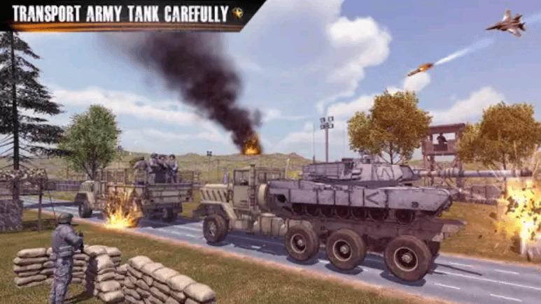 US Army Truck Driving Truck Simulator