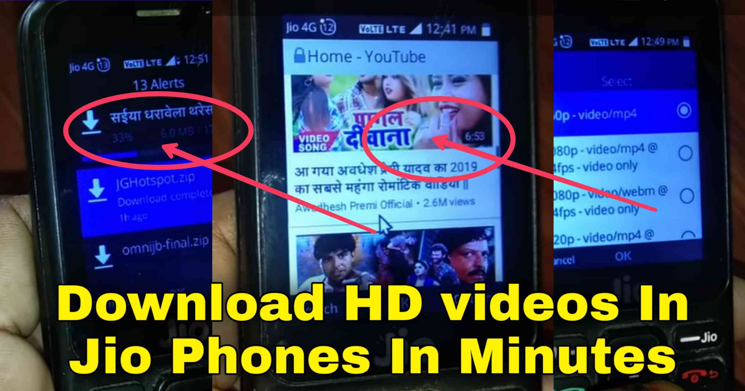 How to Download Video in Jio Phone