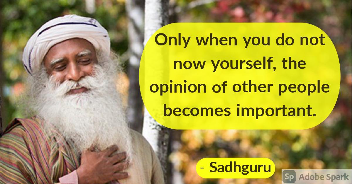 1. Sadhguru Quotes