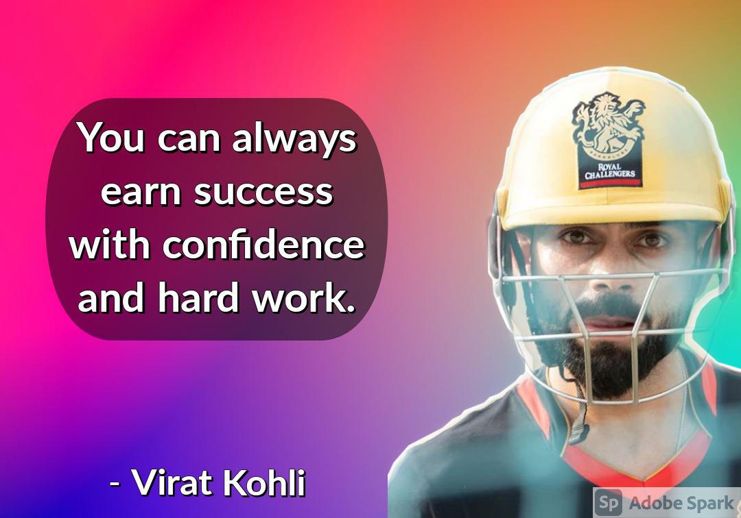 1. Virat Kohli Quotes