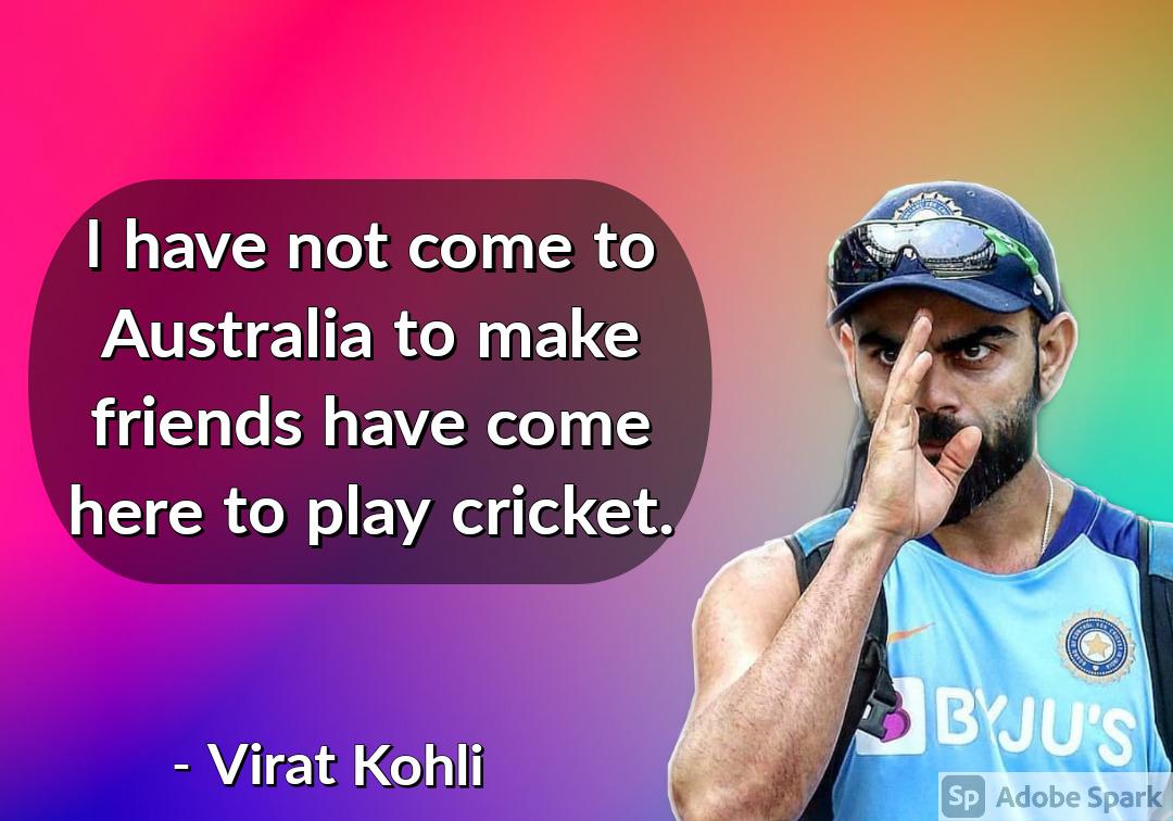 11. Virat Kohli Quotes