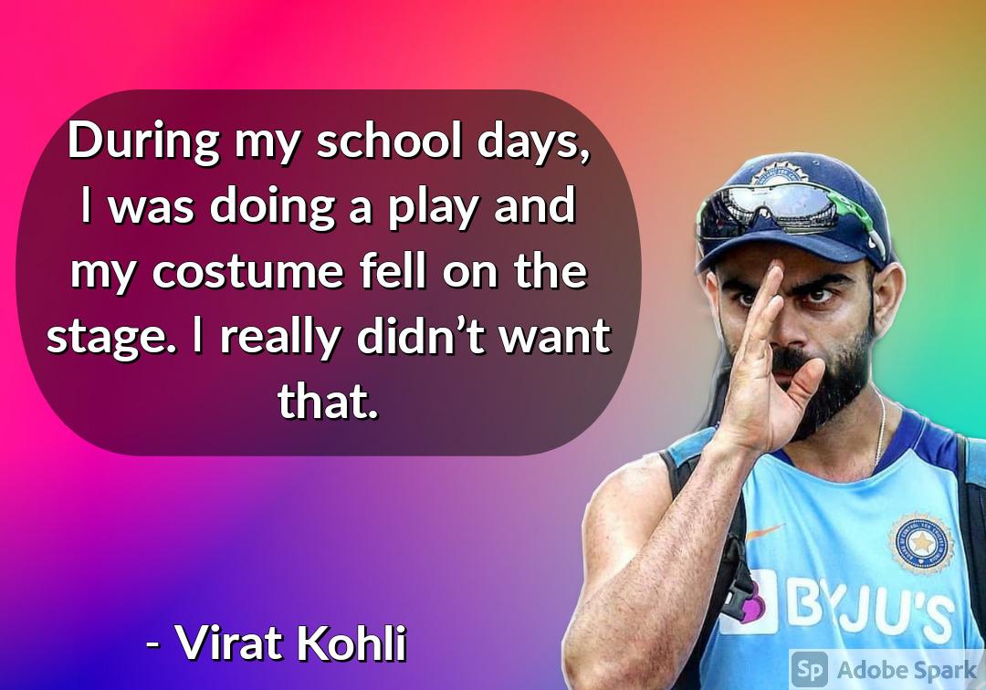 12. Virat Kohli Quotes