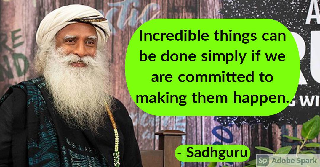 13. Sadhguru Quotes