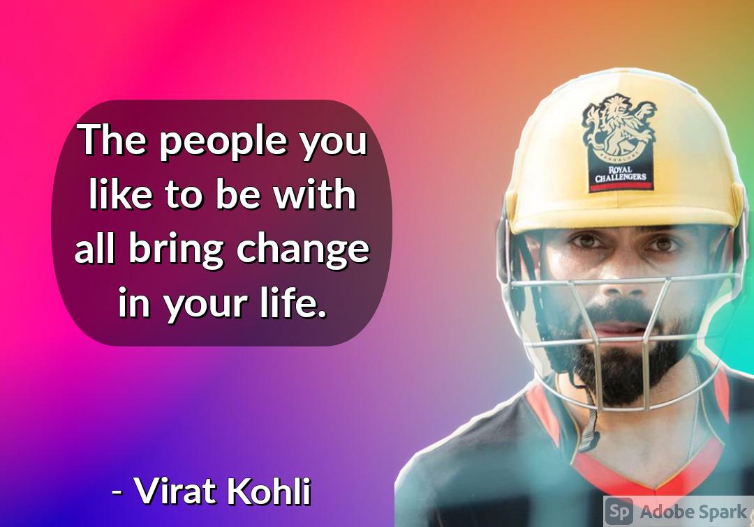 2. Virat Kohli Quotes