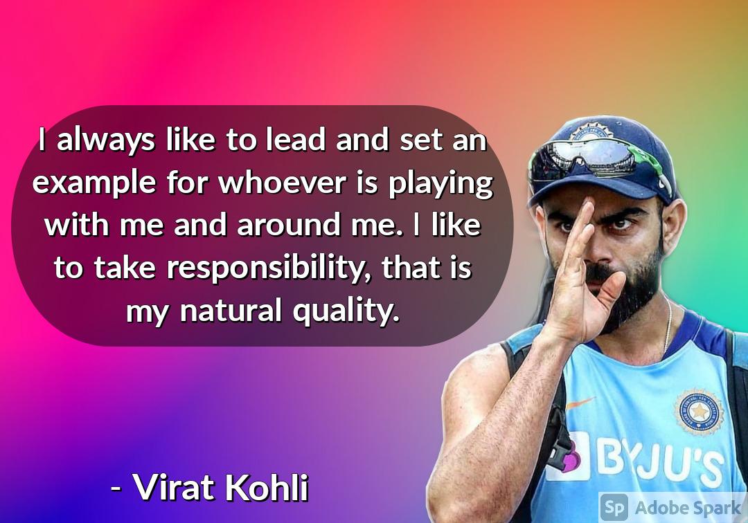 20. Virat Kohli Quotes