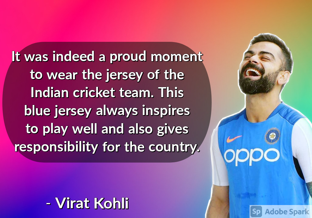 21. Virat Kohli Quotes