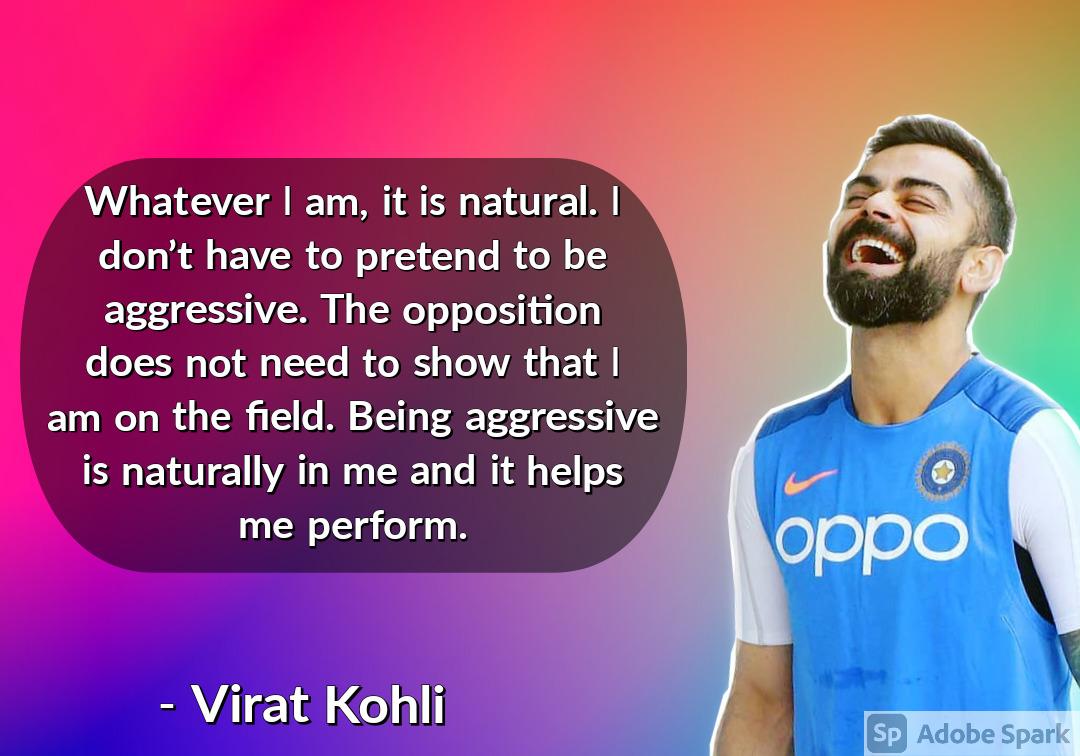 23. Virat Kohli Quotes