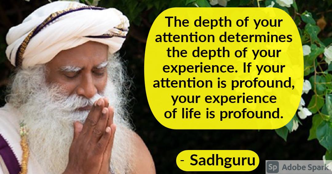 26. Sadhguru Quotes