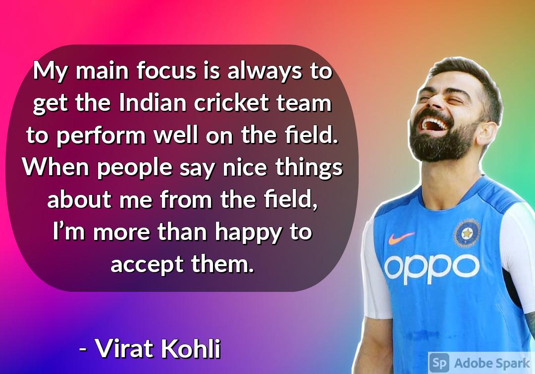 26. Virat Kohli Quotes