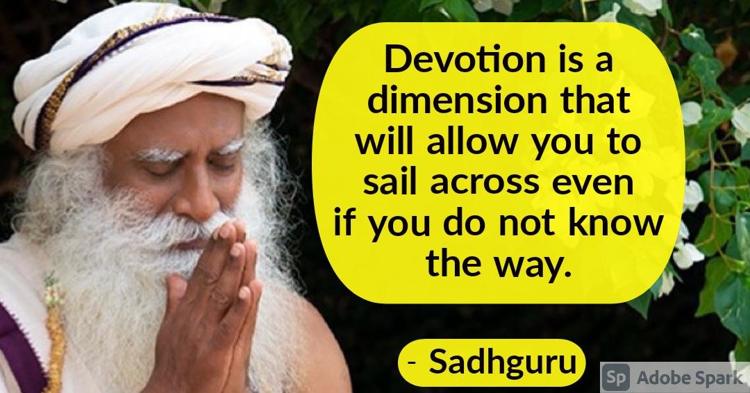 27. Sadhguru Quotes