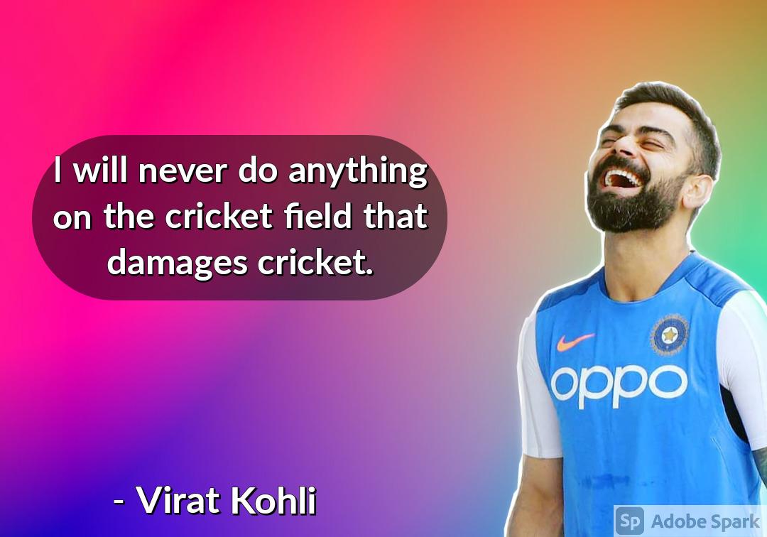 28. Virat Kohli Quotes