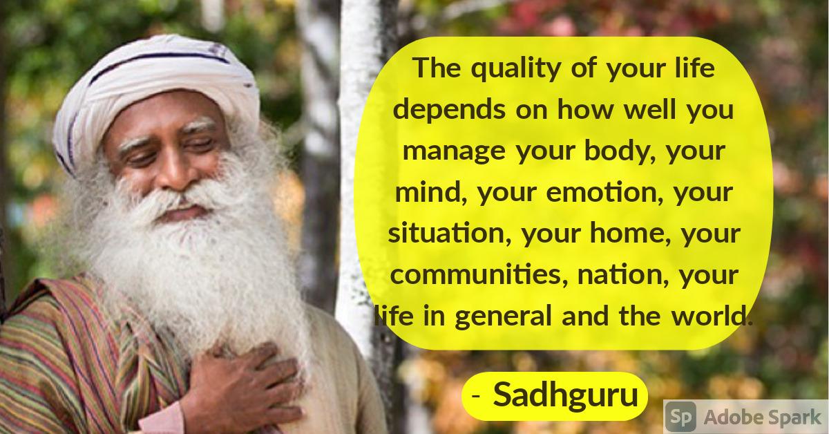 3. Sadhguru Quotes