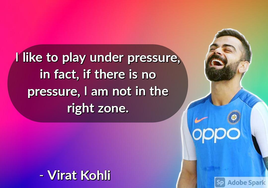 30. Virat Kohli Quotes