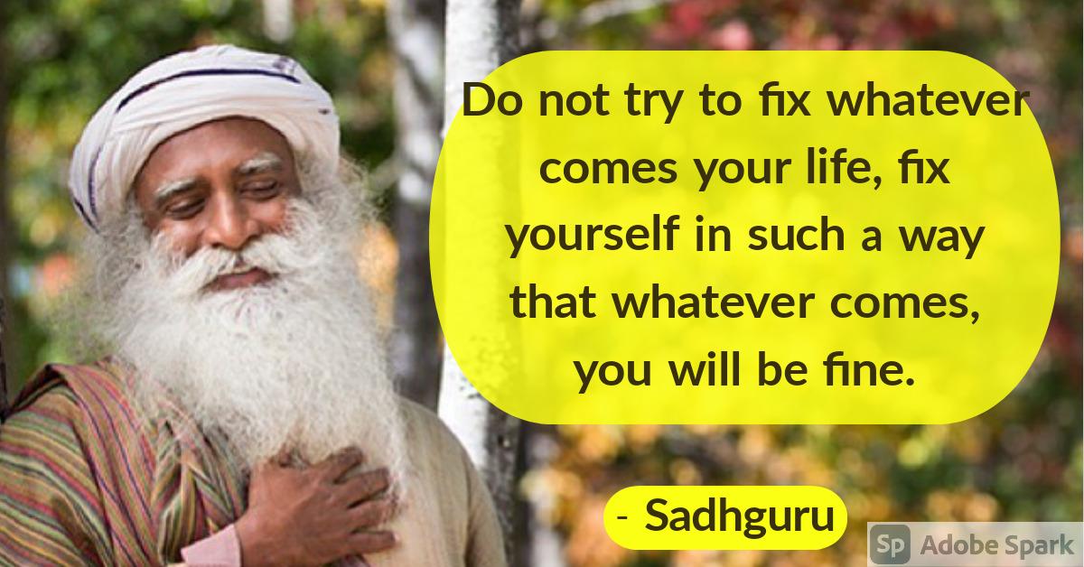 5. Sadhguru Quotes