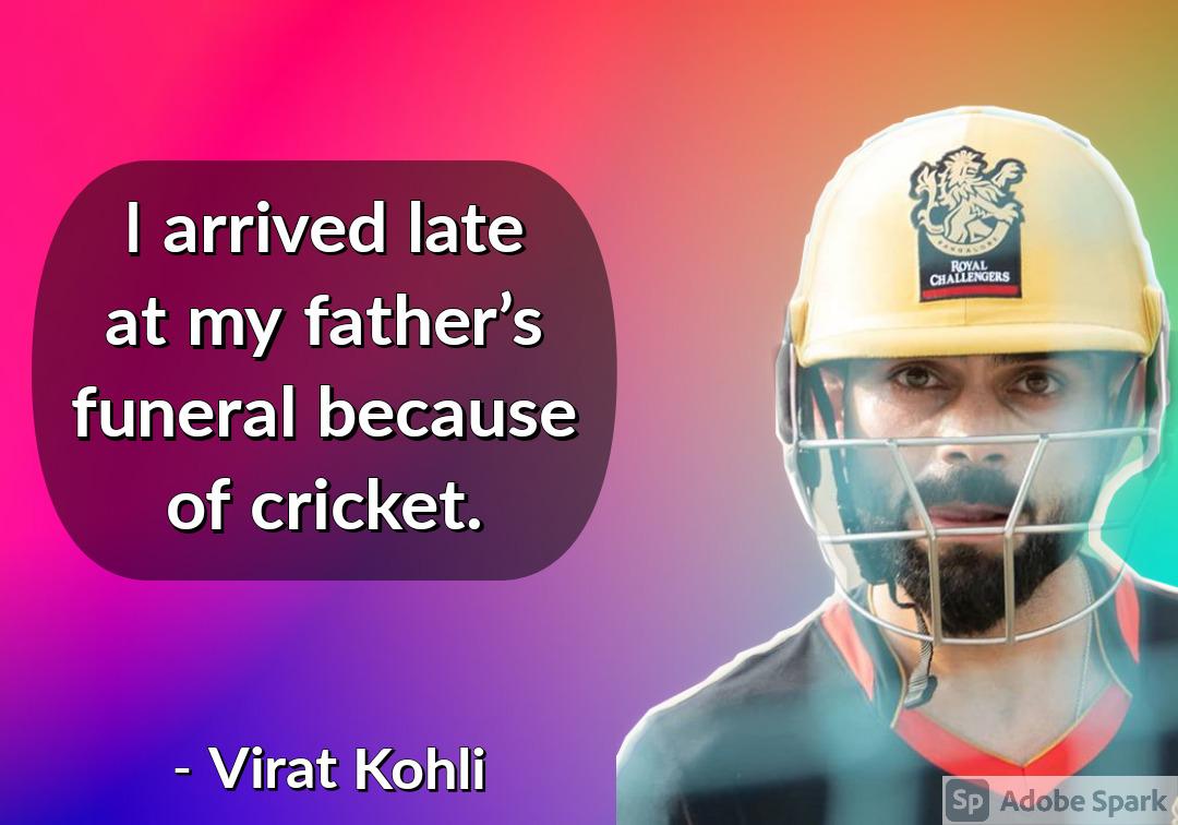 6. Virat Kohli Quotes