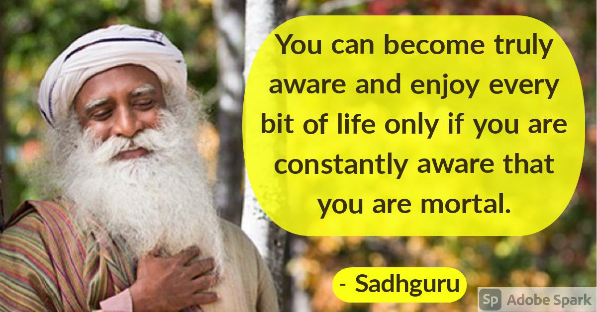 7. Sadhguru Quotes