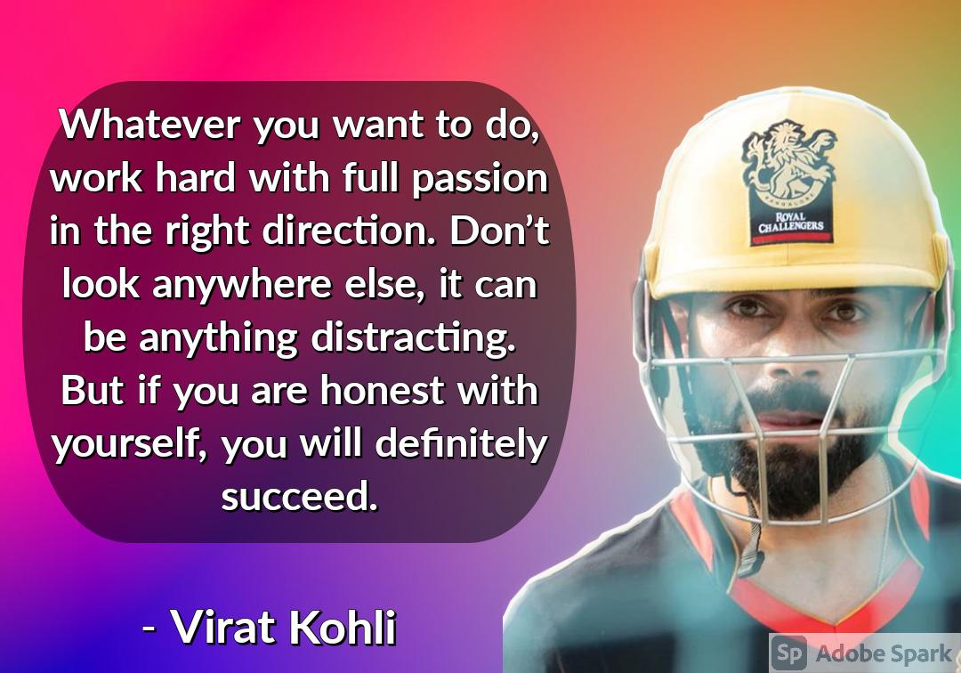 8. Virat Kohli Quotes