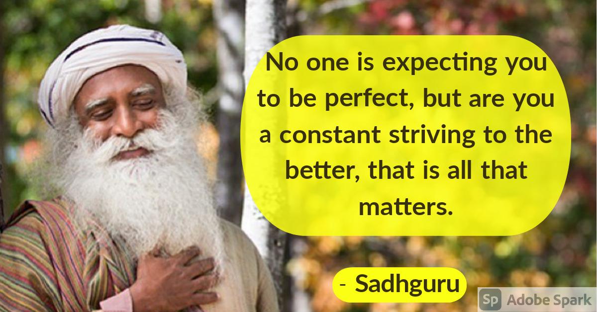 9. Sadhguru Quotes