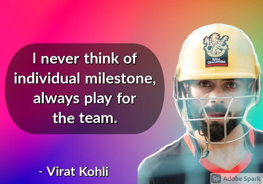9. Virat Kohli Quotes